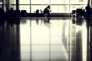A Sexy Goodbye - Erotic Flash Fiction Airport Story